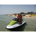 ON JET SKI ON THE BEACH IN TUNISIA