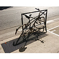 paris bike velo sreet city france shadow