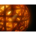 chrismas lights ball bauble rattan