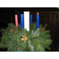 Advent Wreath in our church