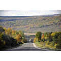 upstate newyork road autumn fall foliage view