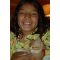 selfportraitfriday me and riki moms kitten