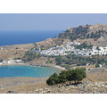 LINDOS RHODES ISLAND GREECE BEACH SUMMER VACATION