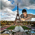 Maju Eiffel Tower Beautiful Paris