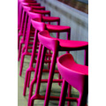 Art ARCO Colors Chair Stool Repetition Fucsia