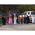 Halloween costume parade at my sons school