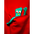 gumby pocket red green toy