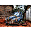 'Rust in Peace': Found this old Morris car in a slum area of Nairobi, Kenya. I was told it had be...