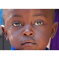 'The Eyes say it all': Aids-orphan child at the Kibagari Compassion Nursery School in the Kibagar...