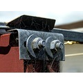bracket clothesline bolts spiderweb