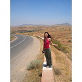 Morocco road girl