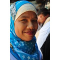 thai muslim lady portrait