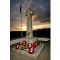 We will remember them.  Taken today at sunset 11th day of the 11th month. Porthleven War Memorial.