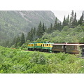 northtoalaska coralprincess alaska skagway whitepass railroad train