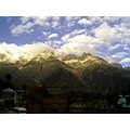 india himalayas kinnaur mountains landscape
