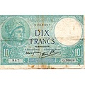 10 Franc Note I think my father brought home in WW1