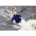 Canoeist at Strathtay