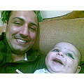 Yousuf with Baba