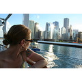 My sister looking out at Chicago - I love how this one came out :)