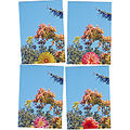 trees summer bluesky mailart mymailartfph flower