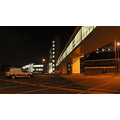 Birmingham England City Metro Hospital NightShot