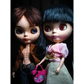 Barsaak and CCE dolls (Blythe Clones)