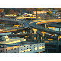 ramps highway higwayramps light sunlight eveninglight