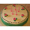 girl giulia birthday cake