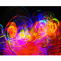 light drawing and ghosts sand mountain glow sticks granitbiscut