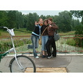 It was really wonderful day, one of the best!:) We were riding bicycles for several hours through...