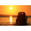 sunrise boat fishing takapuna beach