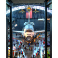 shuttle discovery hdr