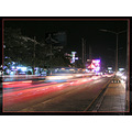 Bangkok night traffic Mircea