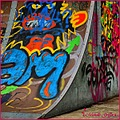 graffitti art vandalism colour