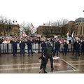 edl rally bolton crowd flags