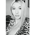 bw animalprint nosepiercing lips straighthair
