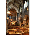 'Quiet Reflection': The Nave of Christchurch Cathedral in Dublin.