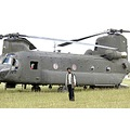 US Army Chinook helicopter