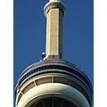 At 7:40pm.CN Tower-EDGEWALK-Some people up there-Toronto,Ont.,On Friday,July 26,2013