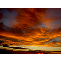 sunset sky clouds dramatic colourful landscape NewBrighton Wirral