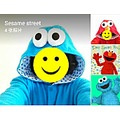 elmo Cookie Monster adult onesies
