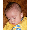 my favorite grandson :) he is my first and only for now :) on his first visit to see grandma -- 3...