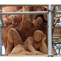 Pershore tree art sculpture England