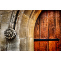 Door Temple Church London UK