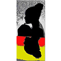 portrait mother female woman silhouette