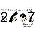 2007 wonderful new year cartoon bigheads