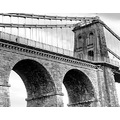 Anglesey Menai bridge wales bw mono suspension