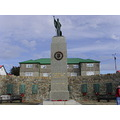 Falklands war cenotaph in Port Stanley