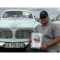 Malcolm from Cape Town taking the cleanest car award in George