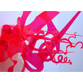 Art ARCO Red Plastic Neon Acid